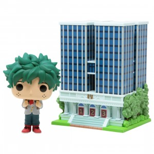 Funko POP Town My Hero Academia U.A. High School With Deku In Uniform (green)