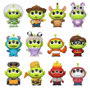 Funko Mystery Minis Disney Pixar Alien Remix Alien in Costume Figure - 1 Blind Box