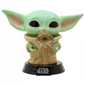 Funko POP Star Wars The Mandalorian - The Child with Frog (green)