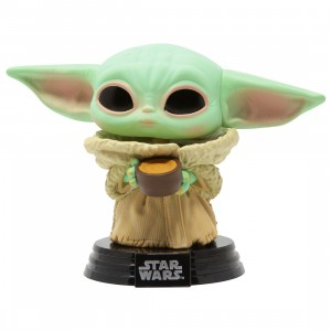 Funko POP Star Wars The Mandalorian - The Child with Cup (green)