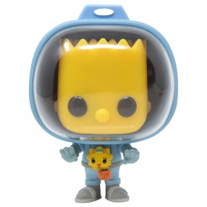 Funko POP TV The Simpsons Treehouse Of Horror - Spaceman Bart With Chestburster Maggie (blue)