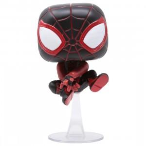 Funko POP Games Marvel Spider-Man Miles Morales - Miles Morales Bodega Cat Suit (black)