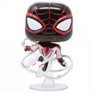 Funko POP Games Marvel Spider-Man Miles Morales - Miles Morales T.R.A.C.K. Suit (white)