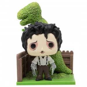 Funko POP Deluxe Edward Scissorhands - Edward And Dino Hedge (green)