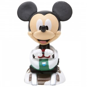 Funko Disney 65th Anniversary Mini Vinyl Figure - 03 Micky Mouse At The Matterhorn Bobsleds Attraction (black)