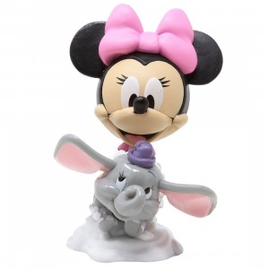 Funko Disney 65th Anniversary Mini Vinyl Figure - 06 Minnie Mouse At Dumbo The Flying Elephant Attraction (pink)