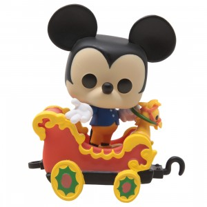 Funko POP Disney 65th Anniversary Mickey Mouse On The Casey Jr. Circus Train Attraction (black)