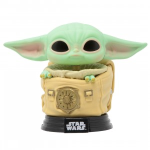Funko POP Star Wars The Mandalorian - The Child With Bag (green)