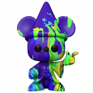 Funko POP Disney Fantasia 80th Anniversary - Sorcerer Mickey Artist Series (green)