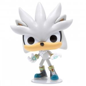 Funko POP Games Sonic The Hedgehog - Silver The Hedgehog (gray)