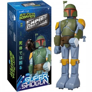 Funko Star Wars Boba Fett - Empire Version Super Shogun 24in Vinyl Figure (green / blue)