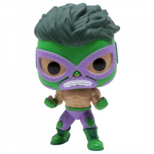 Funko POP Marvel Lucha Libre Edition - Hulk El Furioso (green)