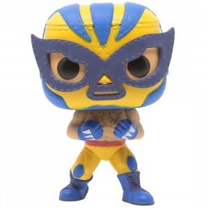 Funko POP Marvel Lucha Libre Edition - Wolverine El Animal Indestructible (yellow)