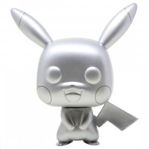 Funko POP Games Pokemon - Pikachu Silver Metallic (silver)