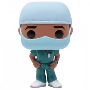 Funko POP Heroes Front Line Worker Male Hospital Worker #2 (teal)
