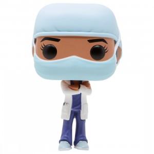 Funko POP Heroes Front Line Worker Female Hospital Worker #2 (blue)