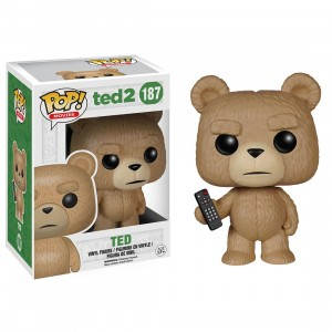 Funko POP Movies: Ted 2 - Ted With Remote Vinyl Figure (brown)