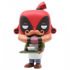 Funko POP Marvel Deadpool 30th - Coffee Barista Deadpool (red)