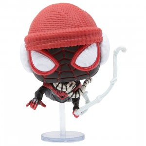 Funko POP Games Marvel Spider-Man Miles Morales - Miles Morales Winter Suit (black)