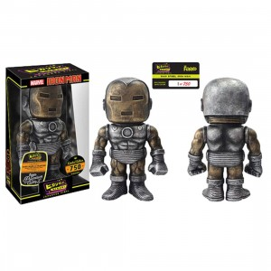 Funko Hikari Marvel Iron Man - Raw Steel Figure (black / silver)