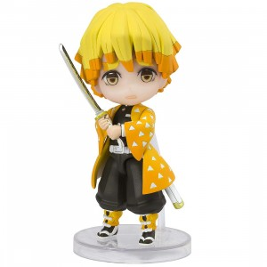 PREORDER - Bandai Figuarts Mini Demon Slayer Agatsuma Zenitsu Figure (orange)