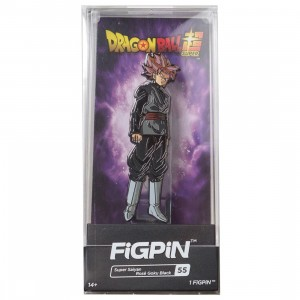 FiGPiN Dragon Ball Super Super Saiyan Rose Goku Black #55 (gray)