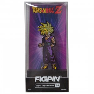 FiGPiN Dragon Ball Z Super Saiyan Gohan #24 (purple)