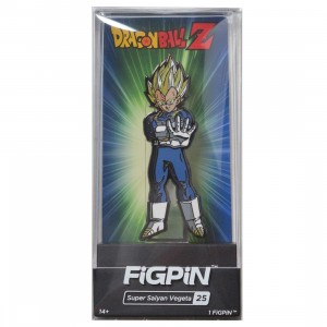 FiGPiN Dragon Ball Z Super Saiyan Vegeta #25 (blue)