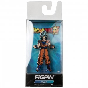FiGPiN Mini Dragon Ball Super Super Saiyan God Super Saiyan #M1 (orange)