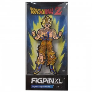 FiGPiN XL Dragon Ball Z Super Saiyan Goku #X2 (yellow)
