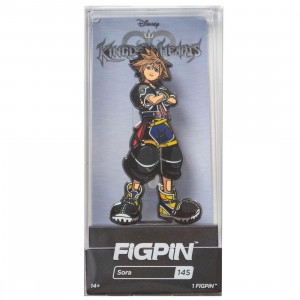 FiGPiN Kingdom Hearts Sora #145 (gray)
