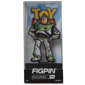 FiGPiN Toy Story 4 Buzz Lightyear #195 (white)