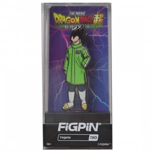 FiGPiN Dragon Ball Super Broly Movie Vegeta #190 (green)