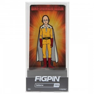 FiGPiN One Punch Man Saitama #389 (yellow)
