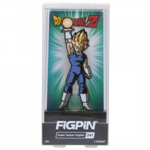 FiGPiN Dragon Ball Z Super Saiyan Vegeta #341 (blue)