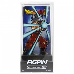 FiGPiN Dragon Ball Super Ultra Instinct Goku #359 (orange)