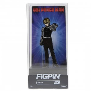 FiGPiN One Punch Man Genos #390 (black)