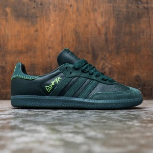 Adidas x Jonah Hill Men Samba (green / green night / mineral green / ecru tint)