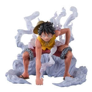 PREORDER - Bandai Figuarts Zero One Piece Extra Battle Monkey D. Luffy Paramount War Figure (yellow)
