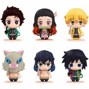 Good Smile Company Demon Slayer Kimetsu no Yaiba 01 Pocket Maquette Set of 6 Figures (multi)