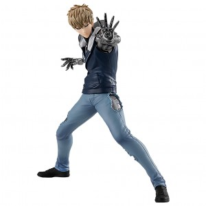 PREORDER - Good Smile Company Pop Up Parade One Punch Man Genos Figure (navy)