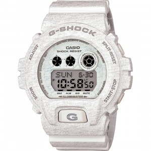 G-Shock GDX6900 Heathered Digital Watch (white)