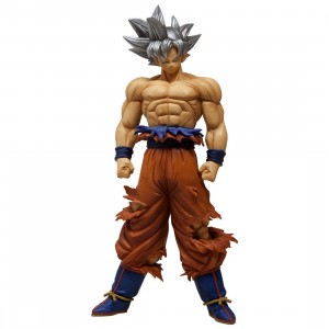 Banpresto Dragon Ball Super Grandista Resolution of Soldiers Super Saiyan Son Goku V3 Figure (orange)