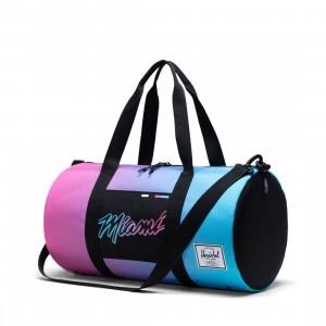 Herschel Supply Co x NBA Miami Heat Sutton Mid 600 Duffel Bag (black)