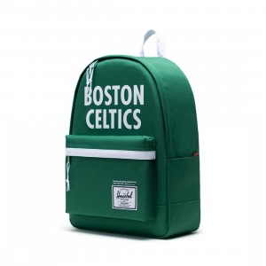 Herschel Supply Co x NBA Boston Celtics Classic XL 600D Bag (green / white)