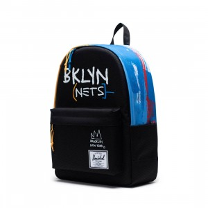 Herschel Supply Co x NBA Brooklyn Nets Classic XL 600D Bag (black)