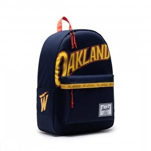 Herschel Supply Co x NBA Golden State Warriors Classic XL 600D Bag (navy)
