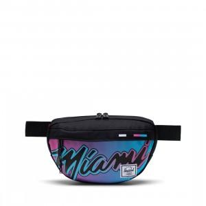 Herschel Supply Co x NBA Miami Heat Nineteen 600D Hip Bag (black)