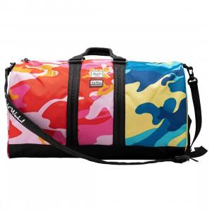 Herschel Supply Co x Andy Warhol Novel 600D Duffel Bag (pink / pink camo / blue camo / black)