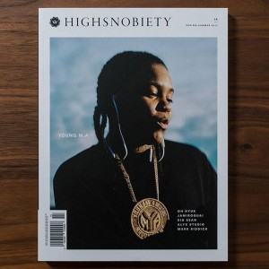 Highsnobiety Magazine Issue 14 - Young MA (white / print)